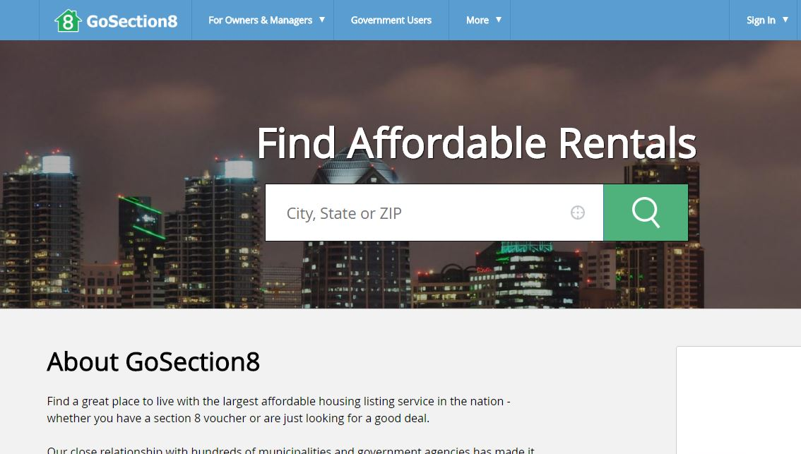 Guide to Using GoSection8.com to Find Rentals