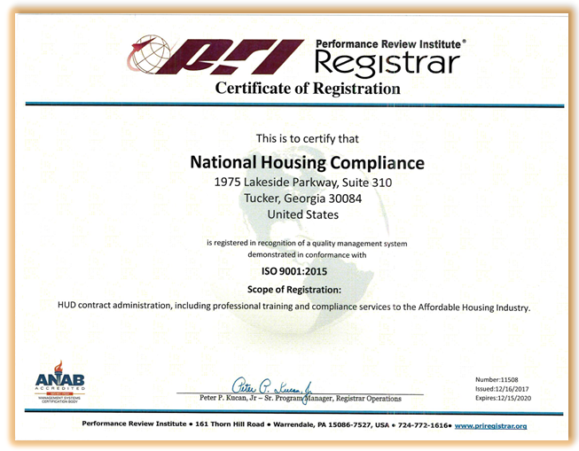 What is a Public Housing Certificate?