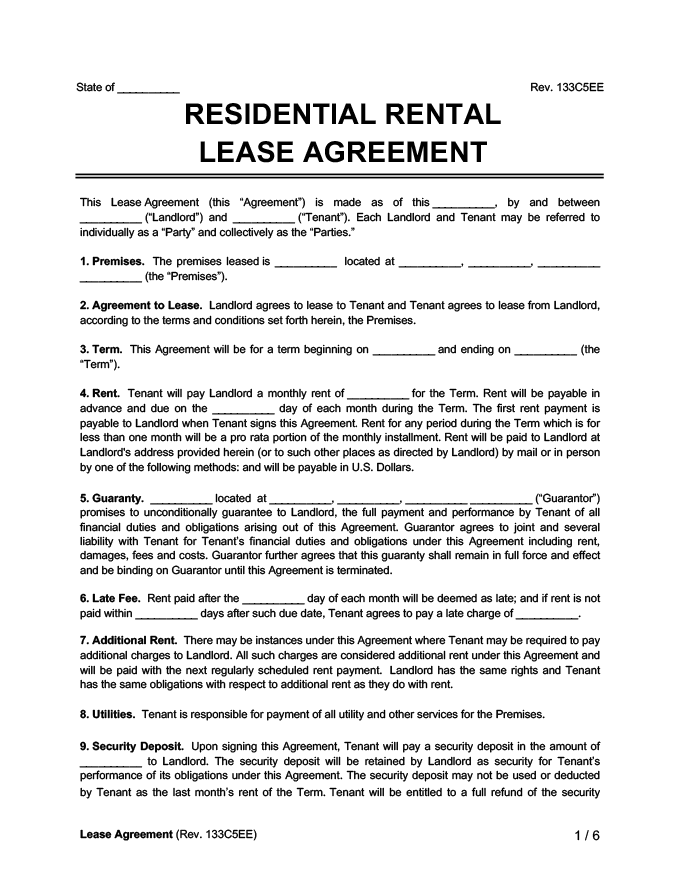 Housing Guide: The Basics of Interpreting and Signing a Lease Agreement